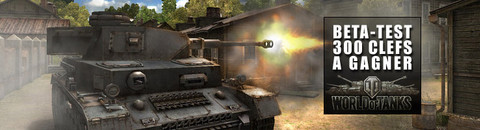 World of Tanks - 300 invitations pour le bêta-test de World of Tanks