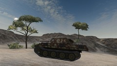 Panther M10 en action
