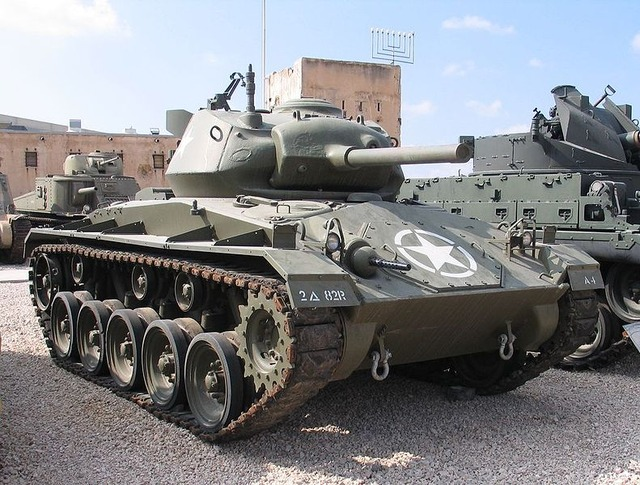 Un peu d'histoire: Le M24 Chaffee