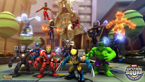 Super Hero Squad Online - Une version européenne pour Marvel Super Hero Squad Online