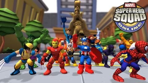 Super Hero Squad Online - Marvel Super Hero Squad Online en beta ouverte en Europe