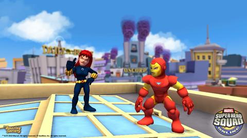 Super Hero Squad Online - L'assaut des héros rigolos