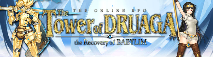 The Tower of Druaga, the Recovery of Babylim (MMORPG) 35129