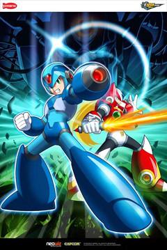 Premiers dessins conceptuels de Mega Man Online