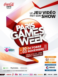 Affiche Paris Games Week 2013