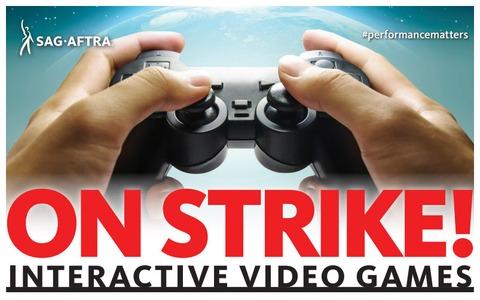 Les doubleurs de jeux en grève aux États-Unis