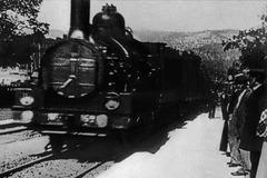 Entrée en gare du train de la Ciotat