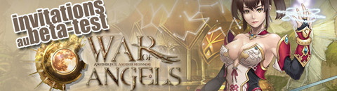 500 invitations pour le bêta-test de War of Angels