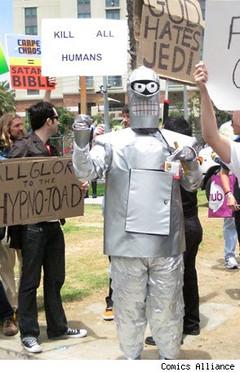 Comic-Con 2010 : Bender