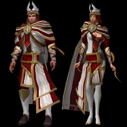 Costume Blanc-Manteau