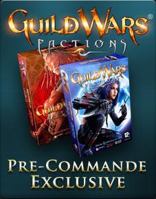 Evènement de pré-commande Guild Wars:Factions