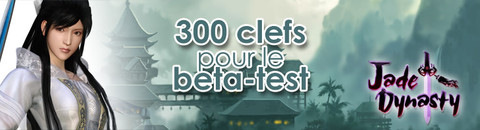 300 invitations pour le bêta-test de Jade Dynasty