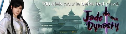 Invitations au bêta-test de Jade Dynasty