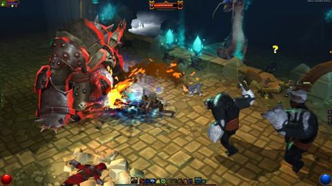 Runic Games - De « grandes idées pour le MMO Torchlight », mais pas pour tout de suite