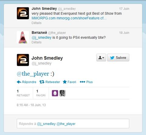 EverQuest Next - EverQuest Next probablement sur PlayStation 4