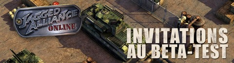 1500 invitations au bêta-test de Jagged Alliance Online