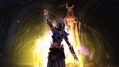 Le prêtre dévoué de Neverwinter dans la lumière