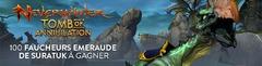 Distribution exclusive : 100 montures rares « Faucheur émeraude de Suratuk » de Neverwinter à gagner
