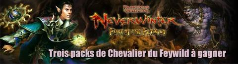Des packs de « Chevalier du Feywild » de Neverwinter à gagner