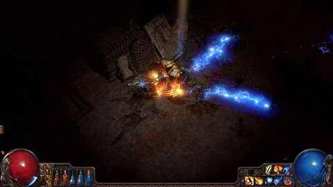 Path of Exile - Le RPG d'action Path of Exil en test de charge du 30 mars au 1er avril