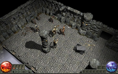 Première image publique de Path of Exile (mi 2009)