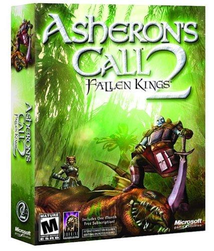 Boîte carton d'Asheron's Call 2