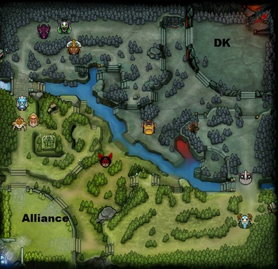 The International 2013 : line-up Alliance contre DK, partie 1