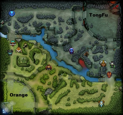 The International 2013 : line-up Orange contre TongFu, partie 3
