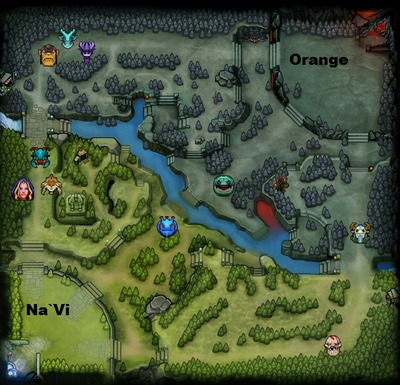 The International 2013 : line-up Orange contre Na`Vi, partie 2