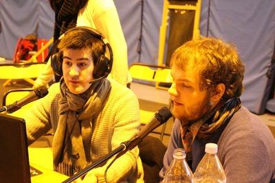 Hugo et Luciqno à l'INSALAN de Rennes (février 2015)
