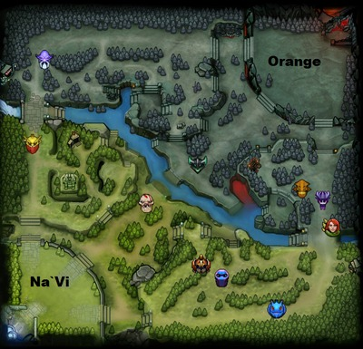 The International 2013 : line-up Orange contre Na`Vi, partie 3