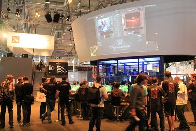 The International 2011 : la plate-forme de rencontre