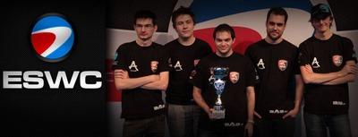 L'équipe aAa à l'ESWC 2013