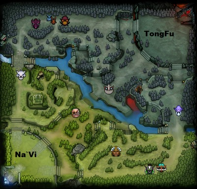 The International 2013 : line-up NaVi contre TongFu, partie 1