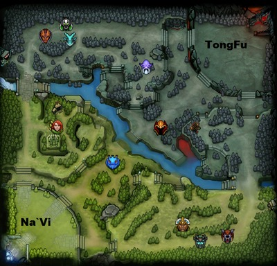 The International 2013 : line-up NaVi contre TongFu, partie 2
