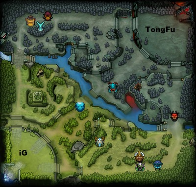 The International 2013 : line-up iG contre TongFu, partie 2