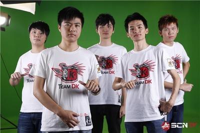 DK - équipe actuelle