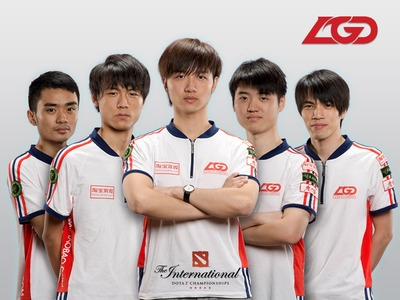 Equipe LGD.cn (roster actuel)