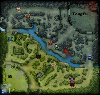 The International 2013 : line-up iG contre TongFu, partie 3