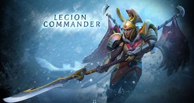 Legion Commander, dernier héros ajouté