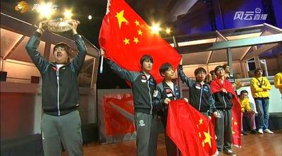 Invictus Gaming, champions du monde 2012