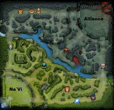 The International 2013 : line-up Alliance contre NaVi, partie 2