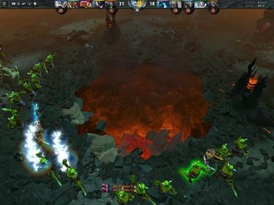 Victoire du Radiant : l'Ancient Dire est détruit