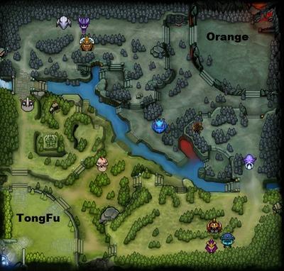 The International 2013 : line-up Orange contre TongFu, partie 1