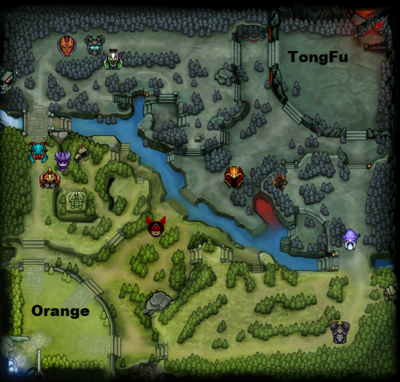 The International 2013 : line-up Orange contre TongFu, partie 2