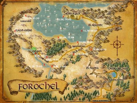 Caches aux trésors Forochel