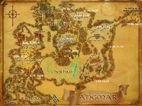 Caches aux trésors Angmar