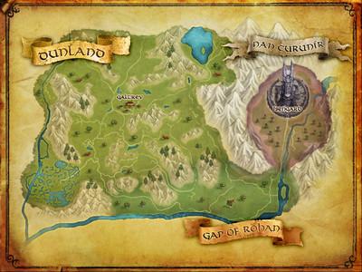 Journal de bêta d'Isengard - La région