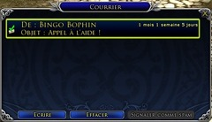 Le contenu hebdomadaire : les aventures de Bingo Bophin