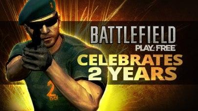 Battlefield Play4Free - Battlefield Play4Free célèbre ses 2 ans